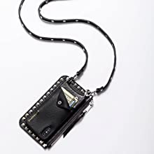 black silver pouch