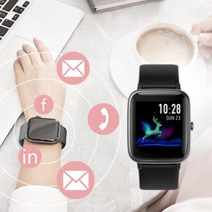 fitness watches for women fitness tracker watch calorie counter watch men smart watch gift for women