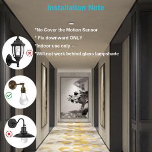 motion sensor light socket