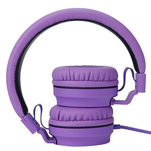 folding headphones, headphones with mic
