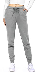 Jogginghose Hohe Taille Sporthose Frauen Baumwolle Sweatpants