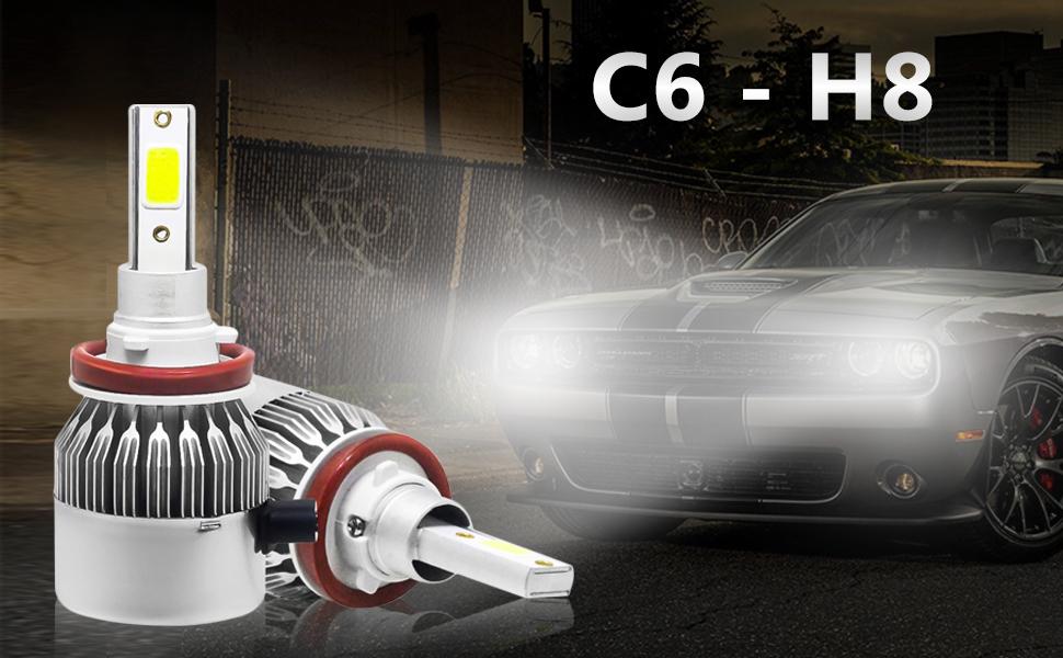 C6 H8/H9/H11 Car Light