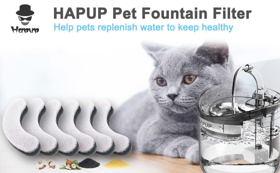 Cat Water Fountain Filter Replacement