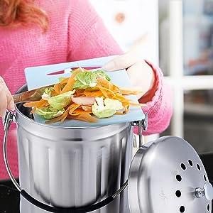 Kitchen Countertop Compost Bin