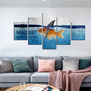 Inspirational Wall Art Mindset Is Everything