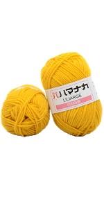 Thick Warm DIY Crochet Knitting Hand-Woven Soft Baby Cotton Wool Yarn