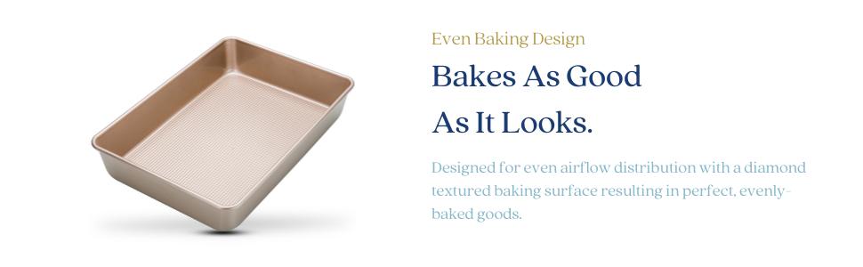 nonstick rectangle cake baking pan