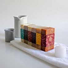 Line of Bar Soap