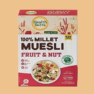 Healthsutra Millet Muesli - B07ZNXB953