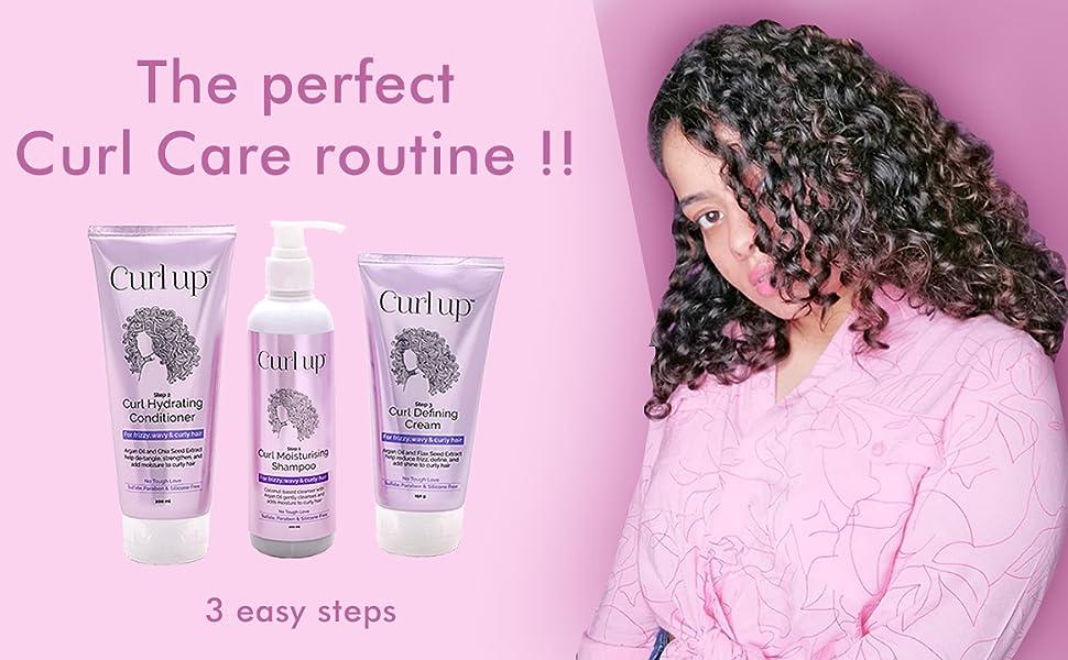 Curl up Curl Care bundle