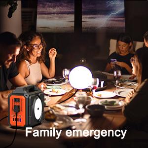 power station for family emgency