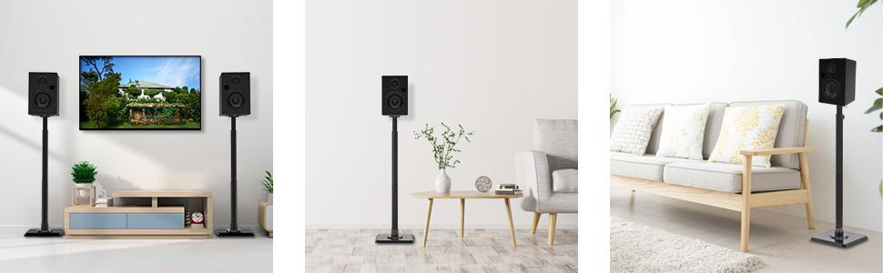 rear speaker stand