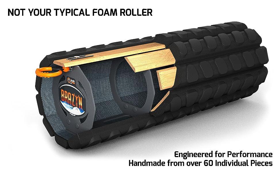 Portable Foam Roller for Travel, Back Roller, Massage Roller, Trigger Point Roller