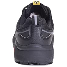 Zapatillas de Seguridad Hombre Zapatos de Mujer Antideslizante Transpirable Zapatos de Trabajo