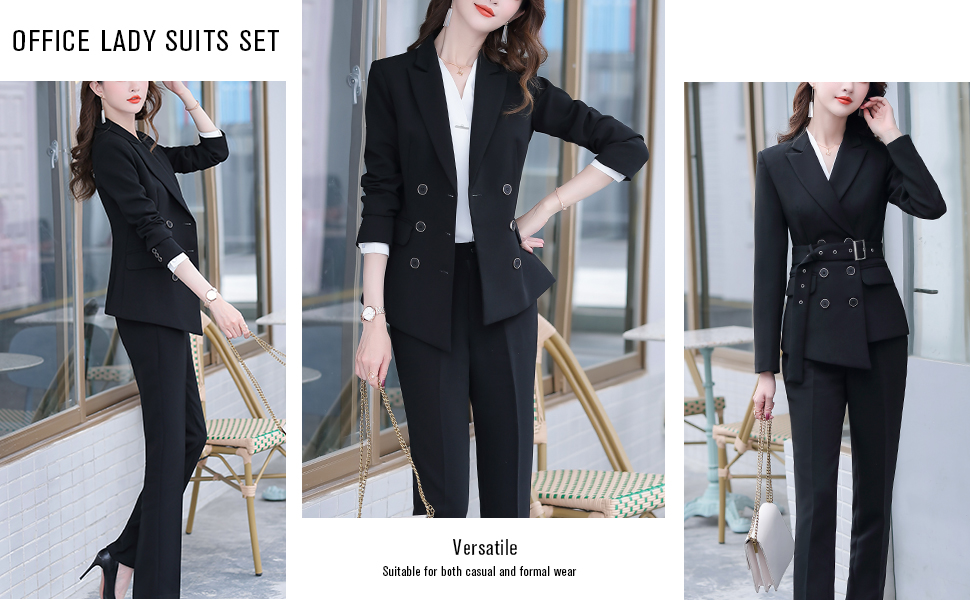 WORK OFFICE PANT SUITS