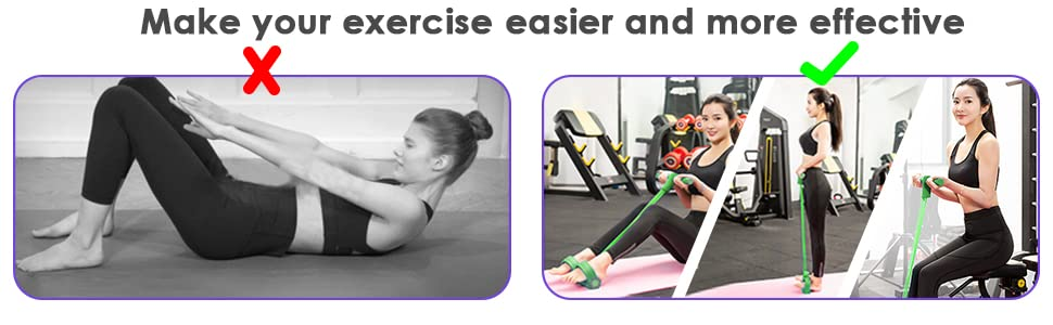 Make your exercise easier and more dffective