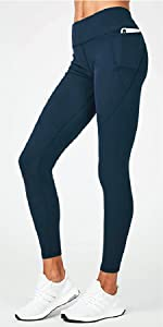 power leggings women yoga pants tights stretchy flexible sport running performance