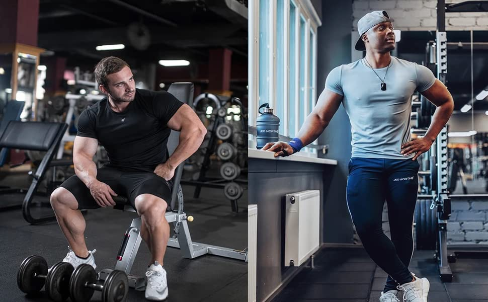 mens fitness workout tshirt