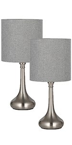 Amazon Com Haitral Table Lamp Modern Bedside Desk Lamp