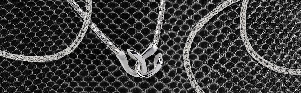 breil;gioielli donna;acciaio;cobra;serpente