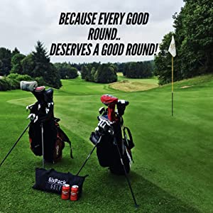 6IXPACK golf insulated cooler bag golf accessories for men