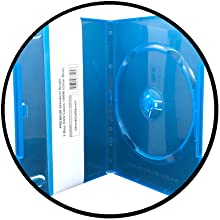 clear blue dvd cases