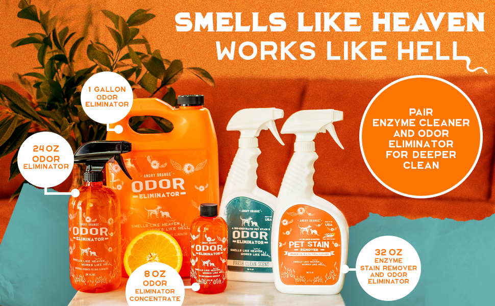 Best home odor eliminator around. Works as an odor absorber and neutralizer in one.