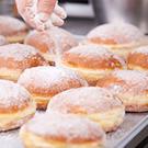donut sugar, snow sugar, kosher sugar, colored donut sugar, natural cake ingredients