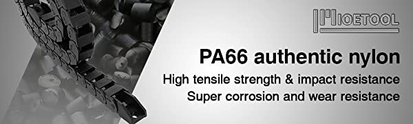 Strong heat resistance, strong electrical resistance, strong abrasion resistance, and stable size.