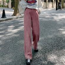 pink wide pants