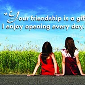 to friends