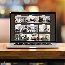 telecamera wi-fi interno senza fili 360 gradi alexa videocamera sorveglianza ip camera casa sd sim