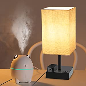 3 Way Dimmable Bedside Nightstand Lamp