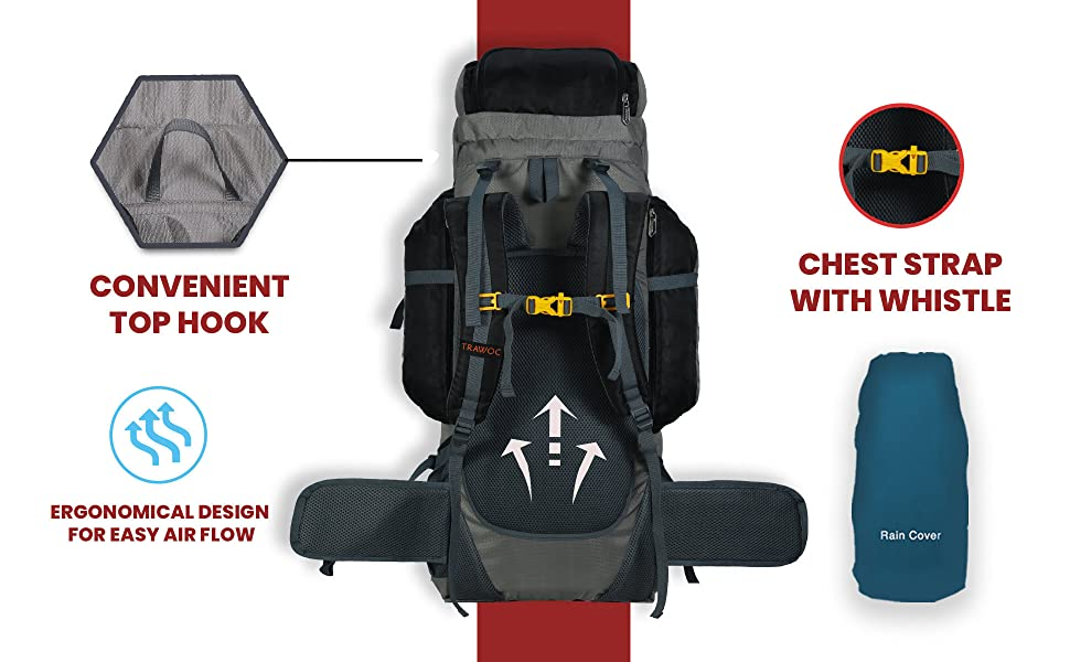 TRAWOC trekking backpack