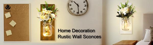 Mason Jar Wall