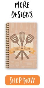 """softcover, 5.5"""" x 8.5"""", recipes, classic recipes, homemade"""