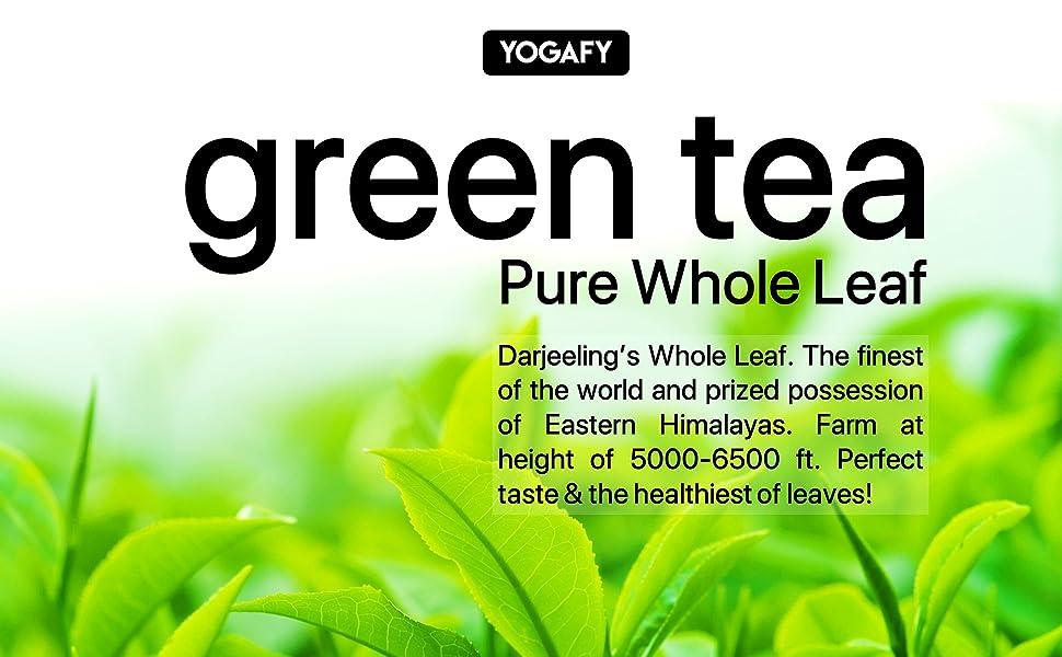 Darjeeling, Green Tea, White Tea, Chamomile Tea, Whole Leaf, Long Leaf, Jasmine, Mint, Tulsi, Rose