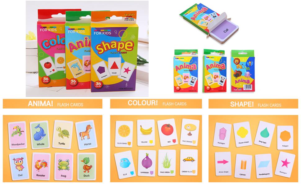 3 juegos de tarjetas didácticas educativas forman tarjetas ...