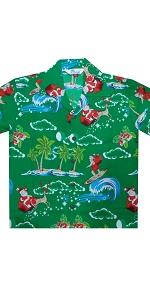 Christmas Hawaiian Shirts for Boys