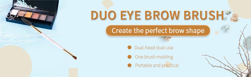 duo eye brow brush