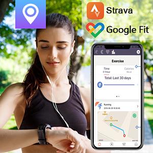 Support Google Fit & Strava App