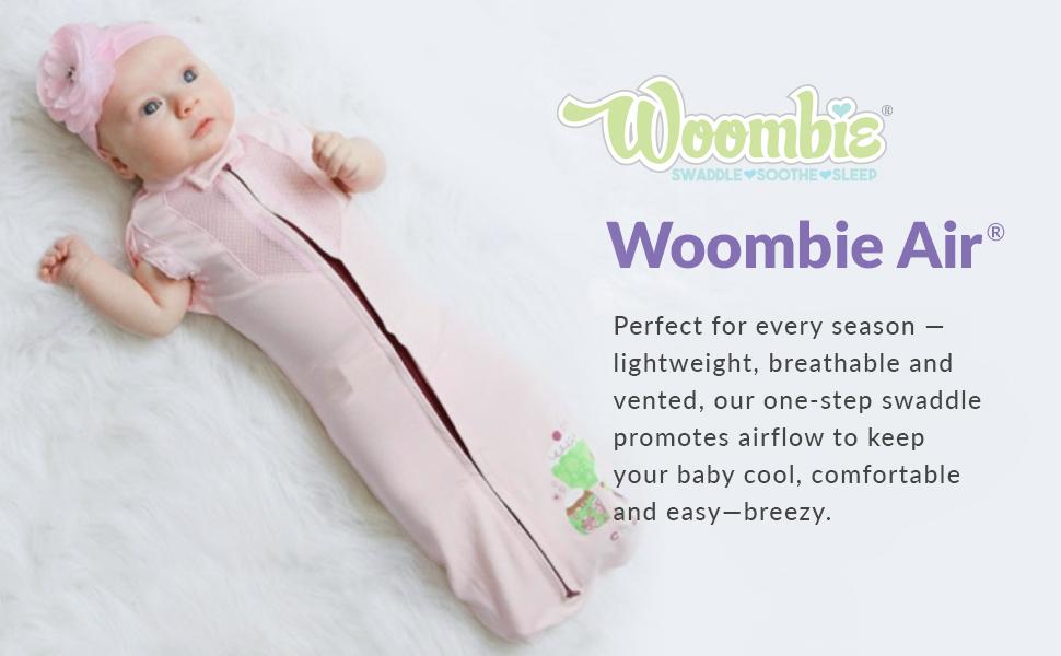 Woombie ergonomic baby swaddling blanked, baby swaddles, baby wraps, wearable blankets, sleep wear