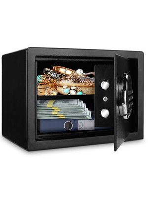 digital security saafe box  BATHWA Digital Electronic Safe Security Box, Steel Deposit Safe for Home & Office, Cabinet Safe with Keypad for Jewellery Money Valuables, Wall-Anchoring Design, 0.7 Cubic Feet Capacity 6d62a384 77c8 485f 8396 3844e1bde5a9
