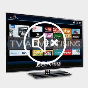 Einfache Stummschaltungstaste für Fernsehwerbung