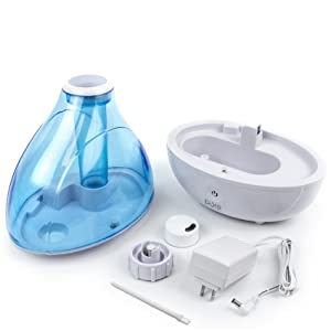 MistAire Ultrasonic Cool Mist Humidifier
