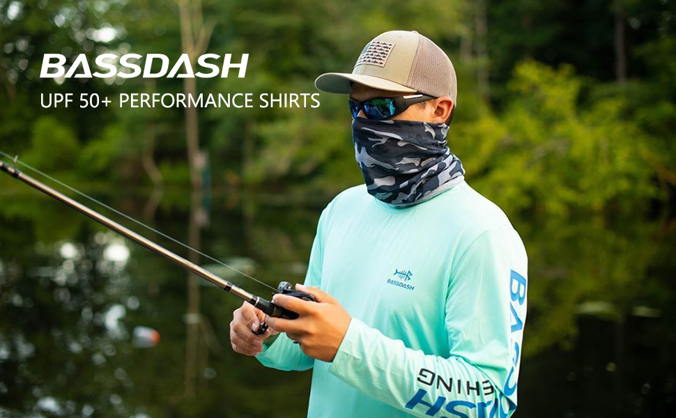 UPF 50+ men's fishing shirt