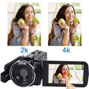 Flashandfocus.com 6d703a92-abc1-459a-95ef-d1cb78e9241a.__CR0,0,300,300_PT0_SX300_V1___ Video Camera, TLPUHU 4K Camcorder WiFi Ultra HD 48MP YouTube Camera for Vlogging, 3.1'' IPS Screen 18X Digital Zoom…