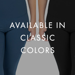 Postpartum leggings available in two colors