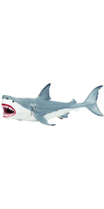 shark, large, giant, dino, prehistoric, sea, monster, megalodon, toy, figure, replica