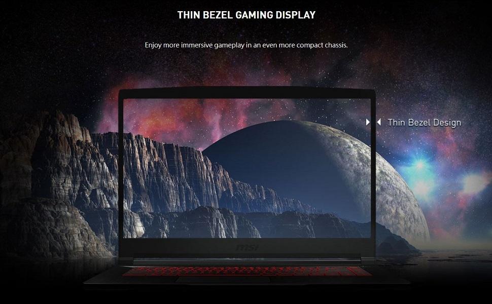 Thin Bezel Gaming Display